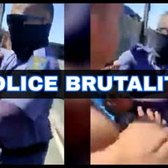 WATCH: POLICE BRUTALITY IN HEIDEVELD - WOMAN MANHANDLED & SPRAYED WITH PEPPER SPRAY / TEARGAS