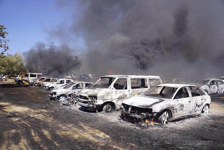 cars-fire